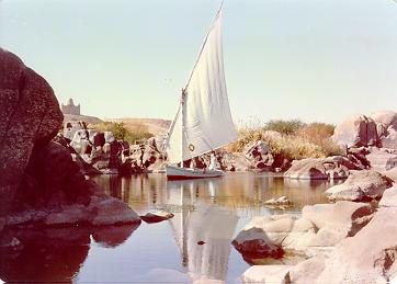 Aswan, Egypt : Beautiful View of Nile
