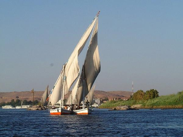 Aswan, Egypt: The Nile at Aswan