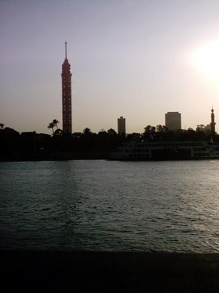 Cairo, Egypt: Cairo Tower and Nile View