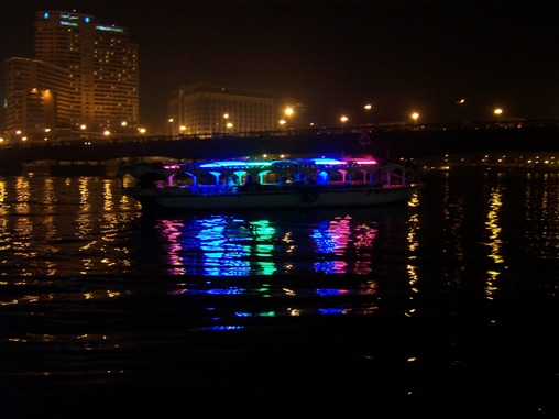 Cairo, Egypt: River Nile View at night
