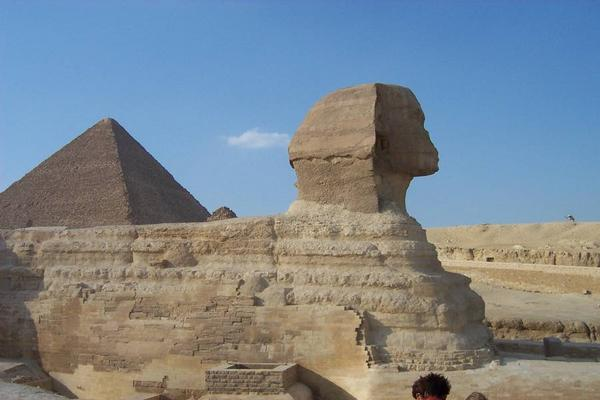 Cairo, Egypt: Pyramids and Sphinx (2)