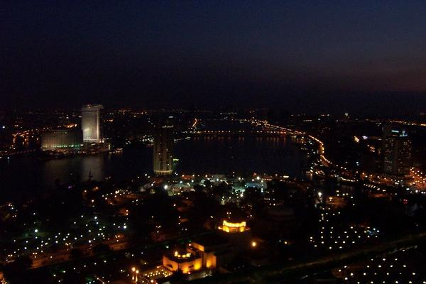 Cairo, Egypt: Cairo at night (2)