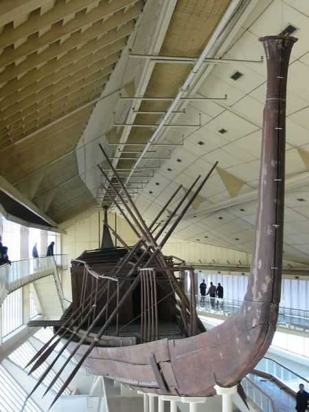 Museums :: Travel to Egypt : king Khufu's boat