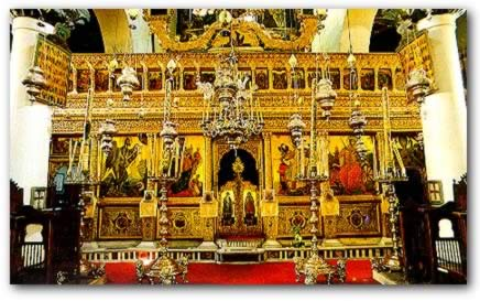 The full iconostasis