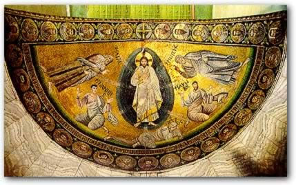 A mosaic of the Transfiguration is probably