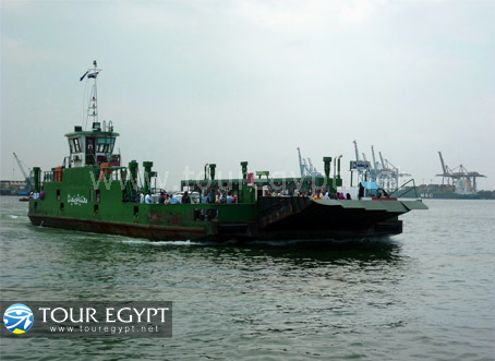 Ferry, Port Said, Egypt