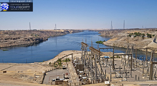 High Dam, Aswan, Egypt
