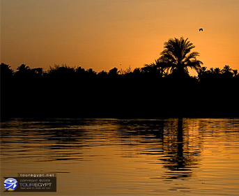 A Luxor Sunset, Egypt