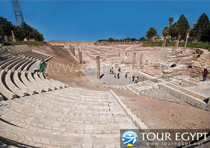 Roman Theater, Alexandria, Egypt
