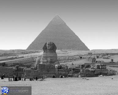 The Second Pyramid and The Sphinx