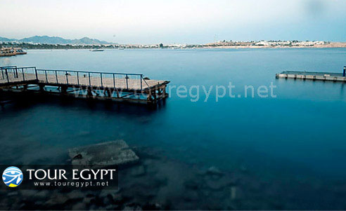 Serene beach perfect for diving and snorkeling in Sharm El Sheikh