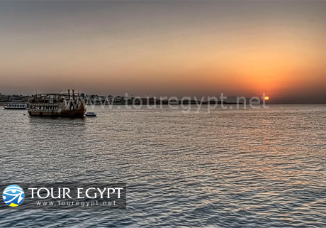 Sunrise at Hurghada