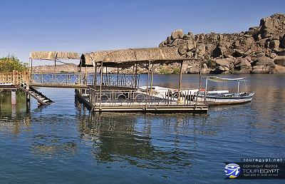 The Nile, aswan, Egypt