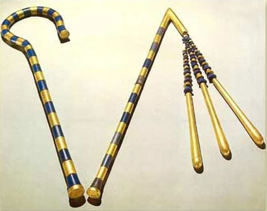 The Crook and Flail in Ancient Egypt