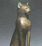 The cats in ancient egypt
