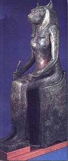 Sekhmet represented the cat goddess