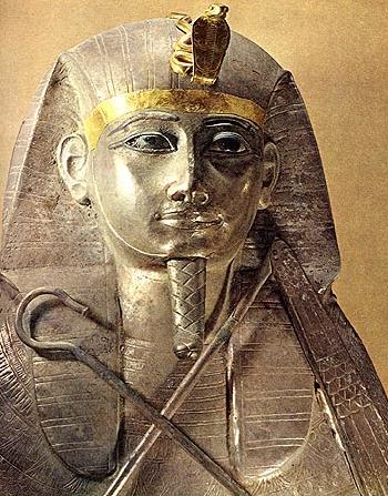 Silver Coffin of King Psusennes
