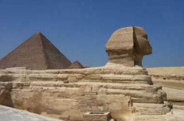 Without the ancient    Egyptian religion, there would probably be no pyramids or Great Sphinx