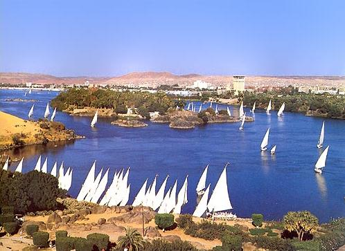 Sail Boats at Aswan