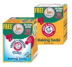 An open box of baking soda   Table Salt Box