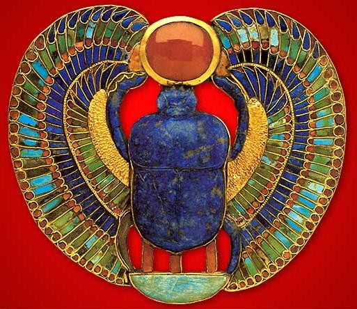 Pectoral in the Form of a Winged Scarab