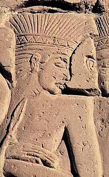 A Captured Sea People from Medinet Habu