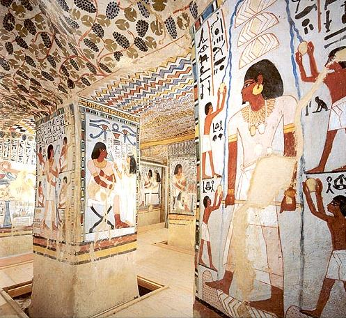 The Tomb of Sennefer on the West Bank at Luxor