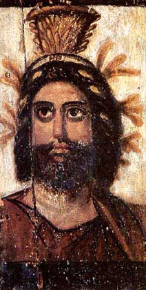 An image of Serapis, not of Christ