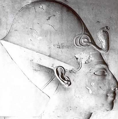 Seti I from his Temple at Abydos