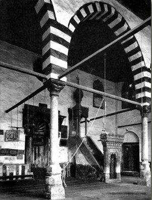 Interior of The Mosque and Madrasa of Shaykhu