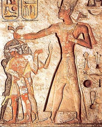 Ramesses II out for a little Smiting