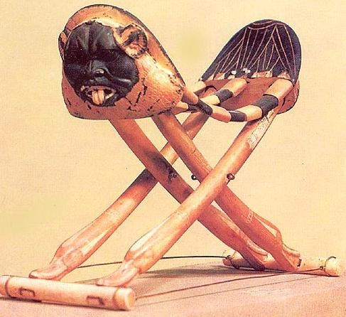 Folding Ivory Head Rest from Tutankhamun's Tomb