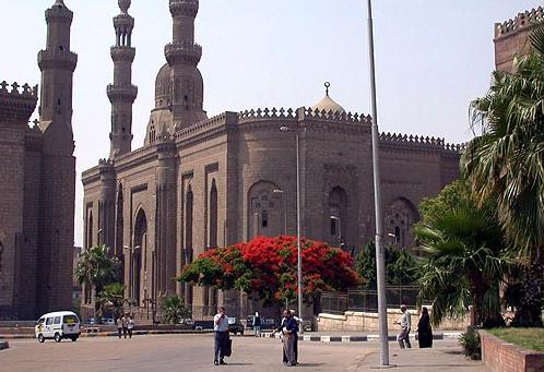 The Sultan Hassan Mosque In Cairo, Egypt