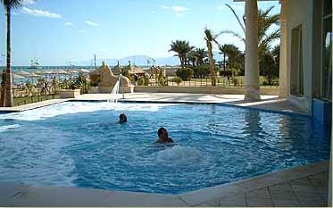 Thereaputic Pool in the Spa at the Swiss Inn of Stella di Mare at Ain Soukhna