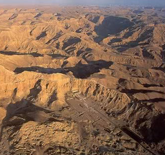 Egypt The Geography And Geology Of The Valley Of The