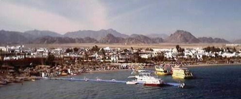 A nice view of Na'ma Bay at Sharm el-Sheikh