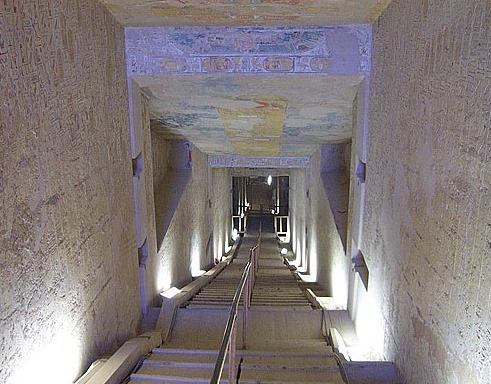 Stairway in the Tomb of Merenptah (KV 8)