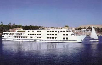 The Triton, A very exclusive Nile Cruise Boat