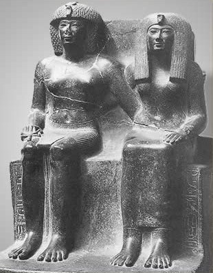 Tuthmosis IV and His Mother, Tiaa