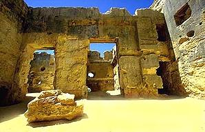 Inside The Temple of the Oracle of Amun