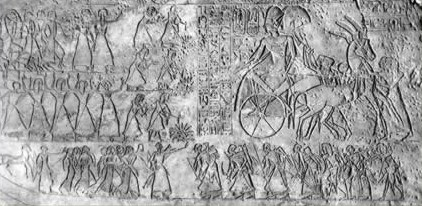 The Ramesseum contains depictions of the Battle of Kadesh that Ramesses II fought against the Hittites