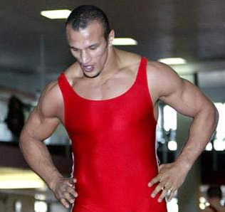 Karam Gaber, another of Egypt's Wrestling Hopefuls