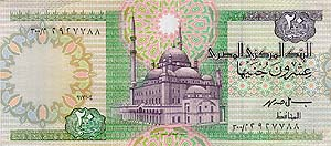 20 Egyptian Pounds