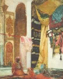 Arab house painting