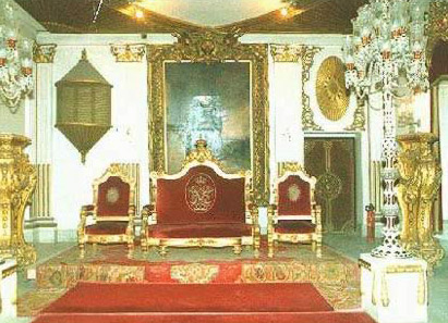 One of the reception halls sides at Prince Mohamed Ali's Palace at Manial