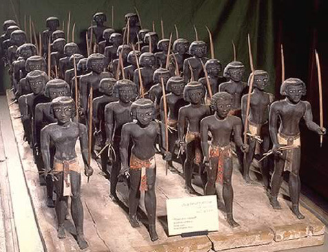 Soldiers of Mehseti, Asyut, 11th dynasty