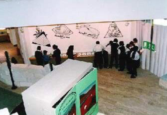 Ancient Egypt is what a child first visits in the Museum so as to know how his forefathers used to live