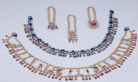 JEWELLERY OF THE PRINCESS  KHNUMIT