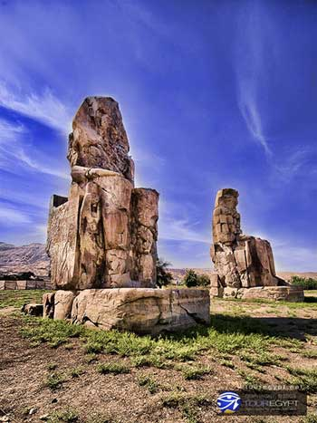 Colossi of Memnon on Luxor's West Bank