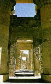 edfu was the Greek city of Apollinopolis Magna